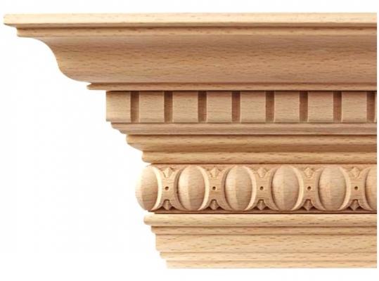 Cornice in legno scolpito, by Ebanisteria Marelli