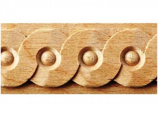 Greca decorativa in legno Ebanisteria Marelli