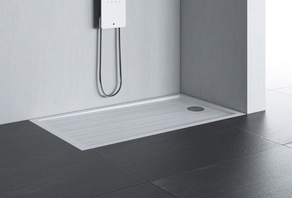 Scarico doccia invisibile - Piatto doccia raso pavimento ...