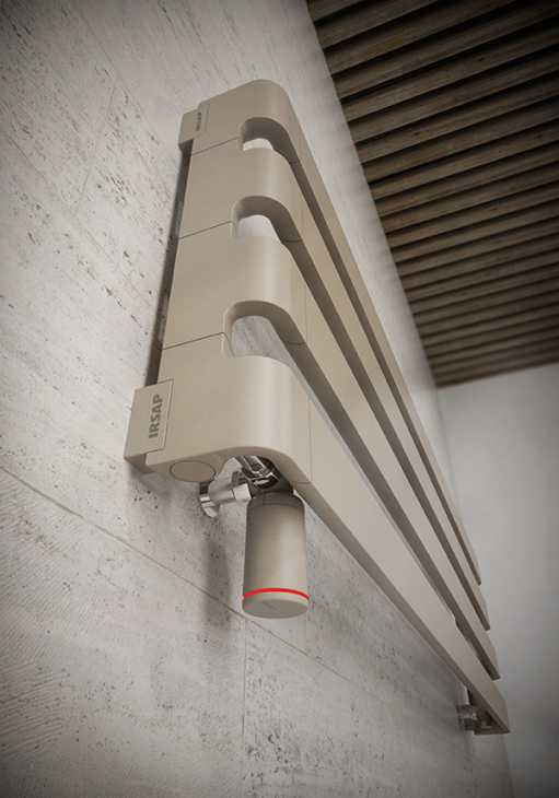 Valvola termostatica LED colorato - IRSAP