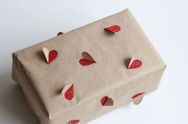 Carta regalo cuori fai da te, da babble.com
