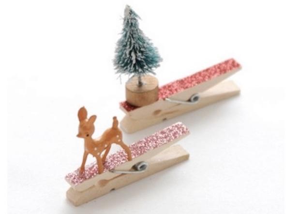 Mollette chiudi pacco natalizie, da poshmommyjewelry.com