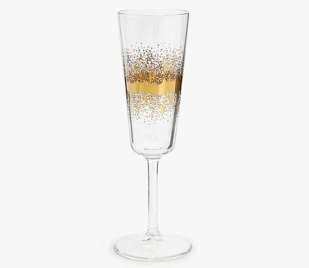Bicchiere per il brindisi di Capodanno, by Zora Home