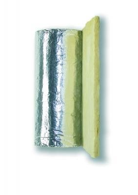Rotolo in lana di vetro Climcover Roll Alu 2 G3 di Isover