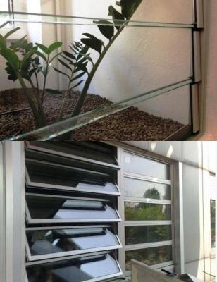 Evacuatore da parete con lamelle a impatto estetico di Bovema
