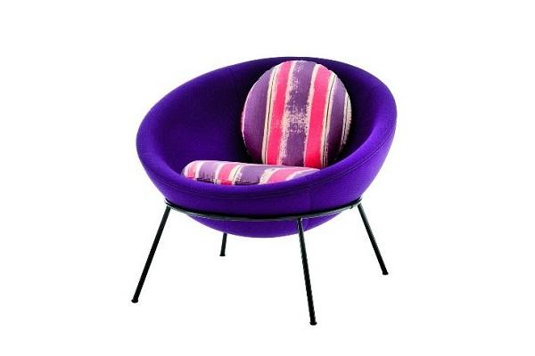 Bardi's Bowl Chair di Arper