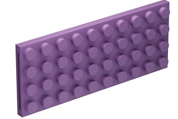 Termoarredo Brick in Ultra Violet
