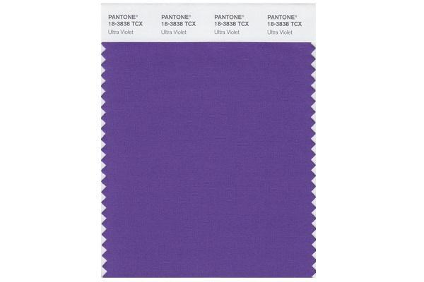 Campione Pantone Ultra Violet