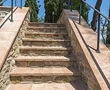 Scala rivestita in cotto - Fornace Bernasconi