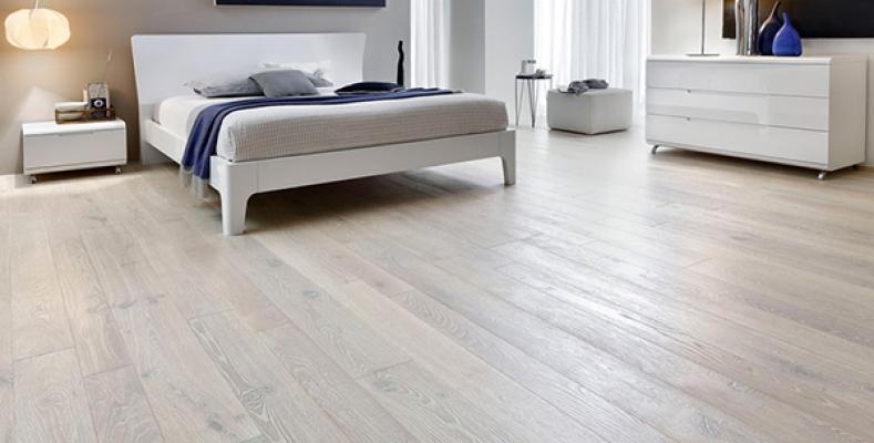 Garbelotto pavimenti in legno rovere decapato sbiancato