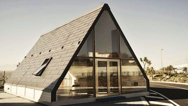Costruire in poche ore: il progetto della casa pieghevole