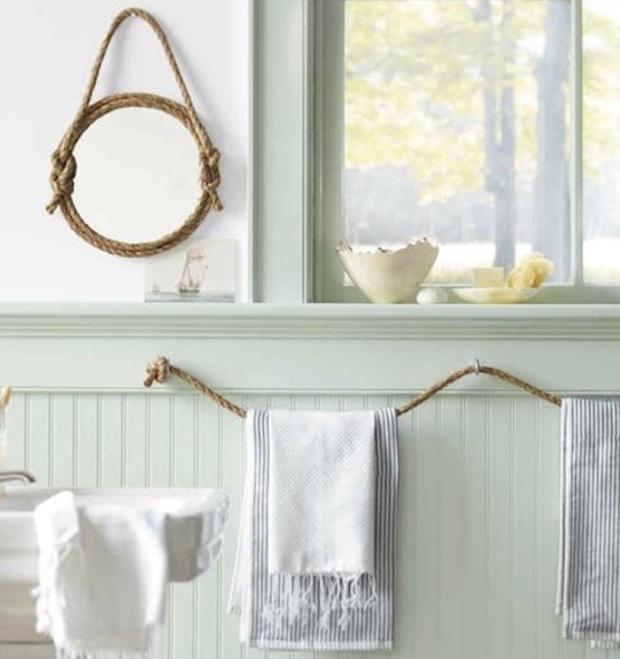 Tante idee per sistemare gli asciugamani in bagno 75ee37355cb