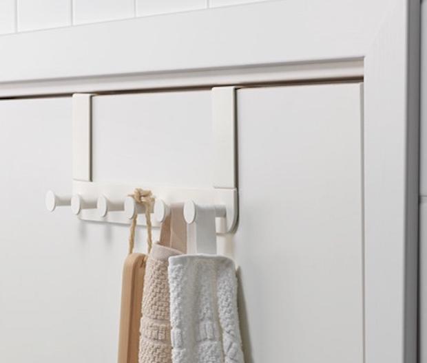 Tante idee per sistemare gli asciugamani in bagno for Porta asciugamani ikea