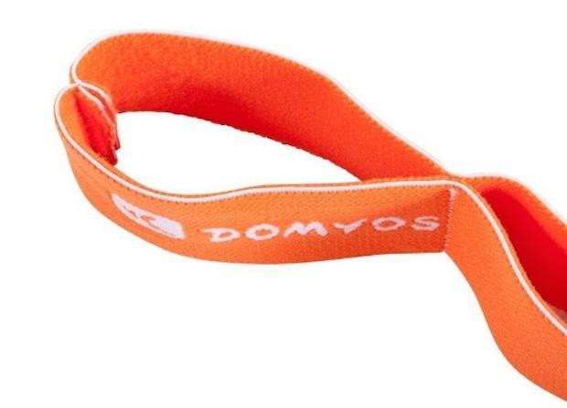 Banda elastica con diverse impugnature, da Decathlon