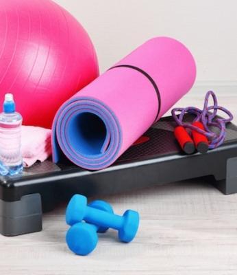 Gli attrezzi indispensabili per l'home fitness, da themilliondollarmama.com