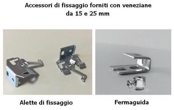 Veneziane accessori fissaggio - Le Tapparelle