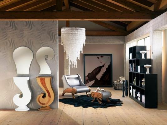 Progetto d 39 arredo living stile contemporaneo Soggiorno stile moderno