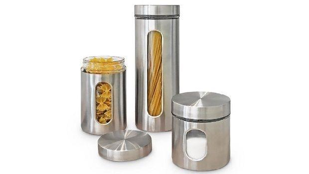 In cucina: contenitori per la pasta belli, colorati e funzionali
