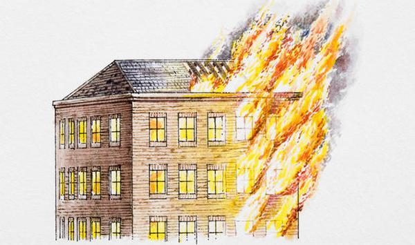 I compartimenti antincendio rallentano la diffusione orizzontale e verticale del fuoco