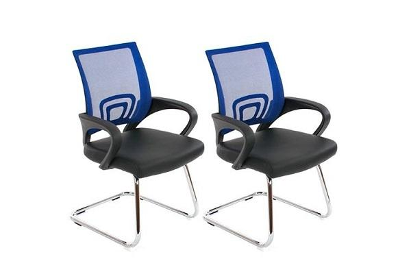 Sedie attesa per l'ufficio Puntonet blu di sedia Ufficio