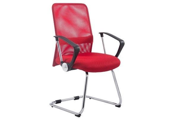 Sedia attesa Arial V rossa di Sedia Ufficio