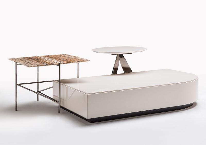 Tavolino rettangolare STAGE e altri collezione BertO