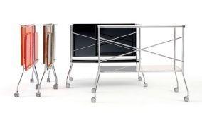 Modelli di carrello portavivande pieghevole per ogni tipo di ambiente