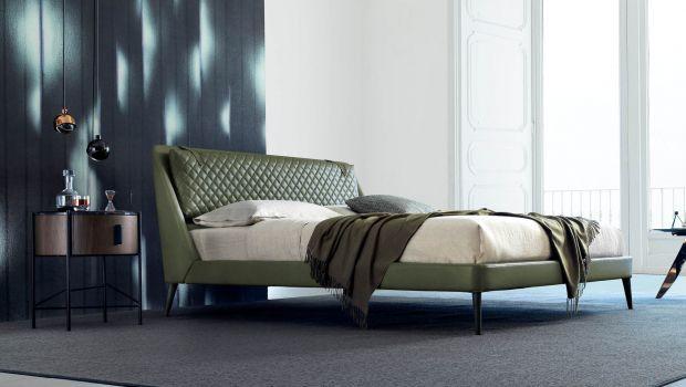Comodità e raffinatezza con il letto Chelsea di BertO