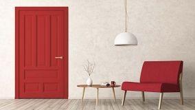 Colore rosso, la tendenza 2018 per divani e complementi d'arredo