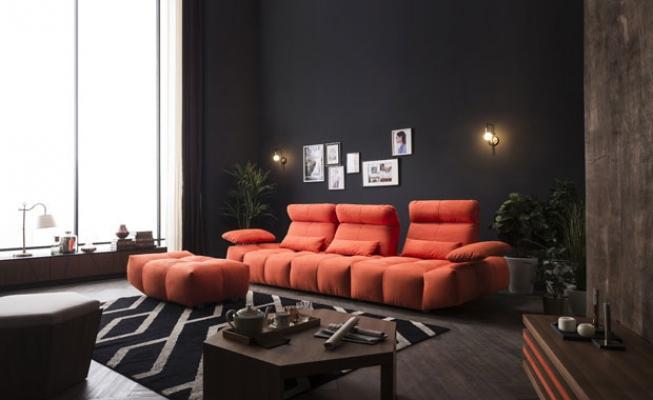 Divano Rosso E Nero : Tendenza colore rosso per divani e accessori