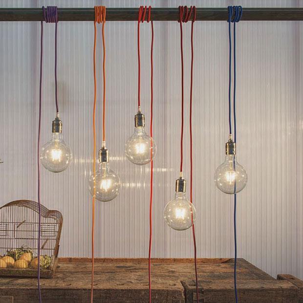 Lampade industrial chic di Interiorbe