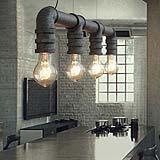 Lampada in stile industriale, in vendita su Amazon
