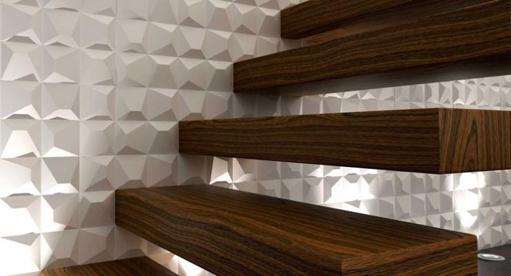 Rivestimento ceramico 3D di WowDesign