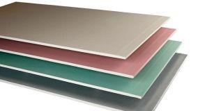 Cartongesso verde antiumidità per installazioni in bagni e cucine