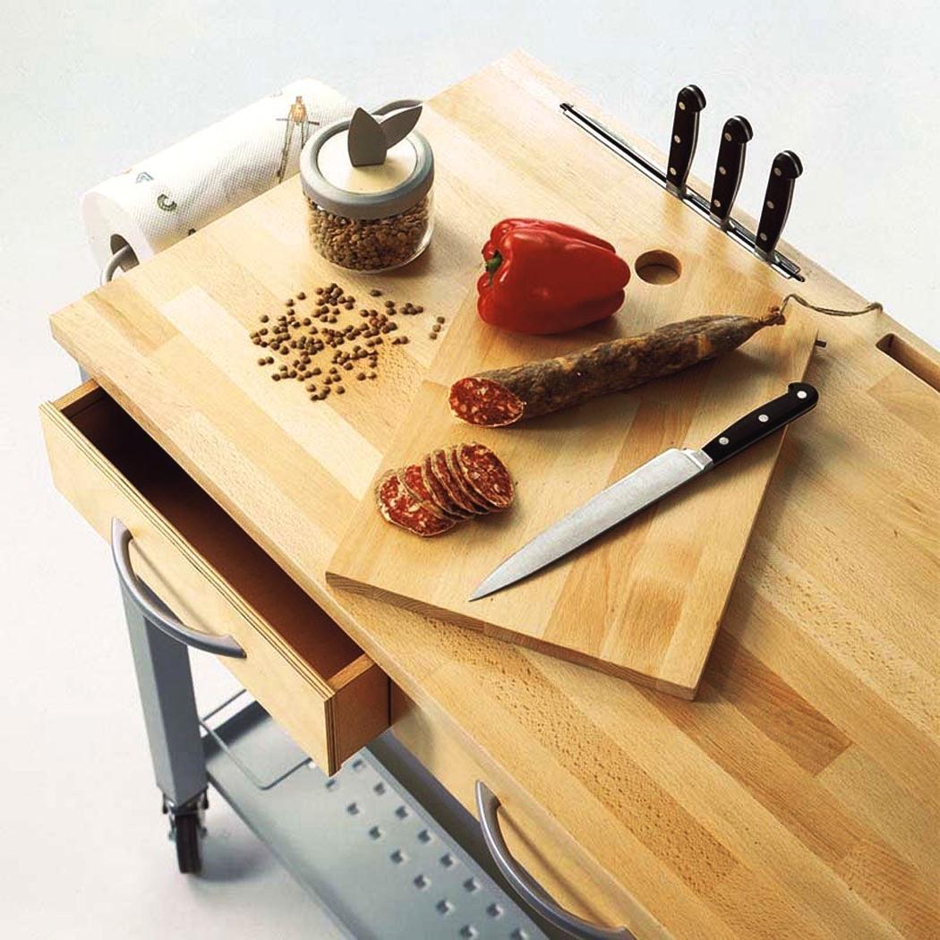 Foto - Carrello da cucina fai da te