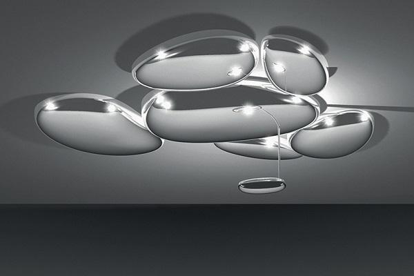 Plafoniere Led Grandi Dimensioni : Plafoniere led dal design ricercato