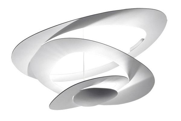 Plafoniera led di design Pierce di Artemide