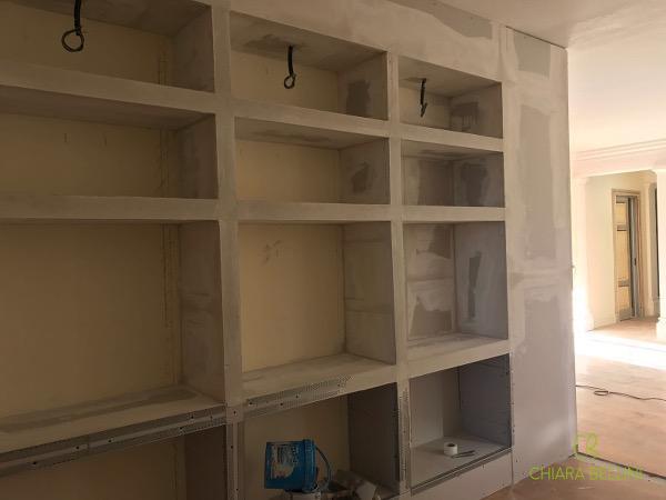 Come unire due appartamenti - integrare gli spazi in più con mobili su misura