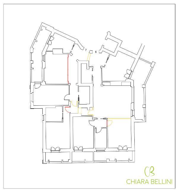 Unire due appartamenti - demolizioni e ricostruzioni in pianta