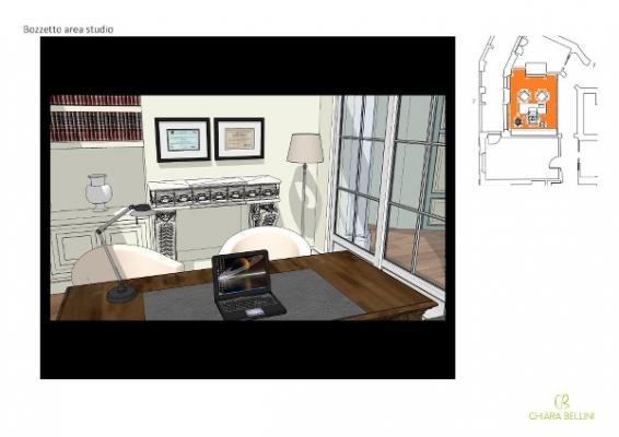 Progetto unione di due appartamenti: realizzare uno studio