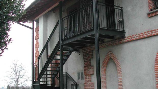 Caratteristiche e normative per l'installazione di scale di sicurezza in ferro