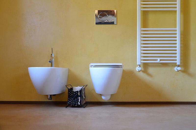 Cemento lucidato e colorato, by Pancotti Superfici