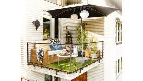 Allestire un salottino sul balcone