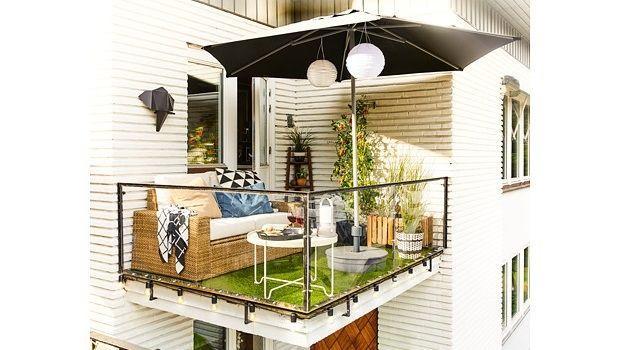 Come allestire un confortevole salottino sul balcone