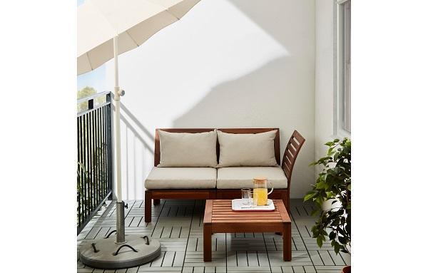 Serie Solleron di Ikea in ambiente