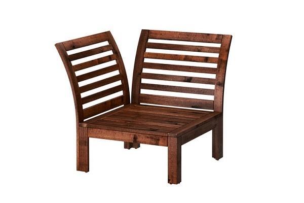 Seduta angolare Applaro di Ikea per salottino da esterno