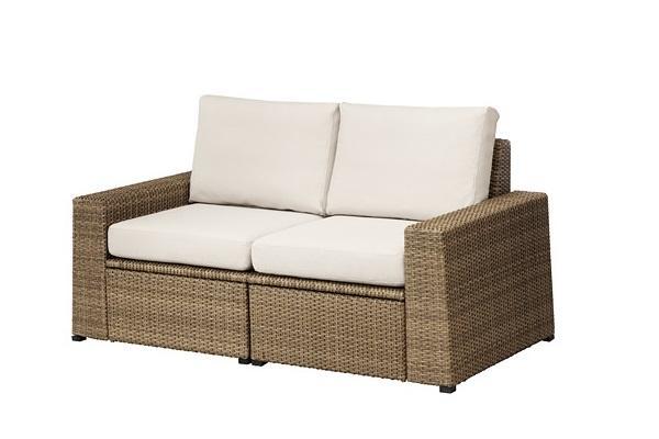 Solottino sul balcone: divano Solleron di Ikea