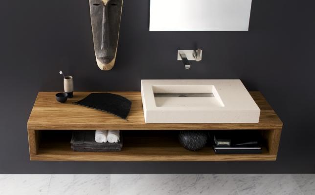 Top legno a muro - Neutra Design