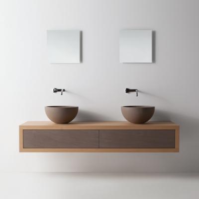 Mobili da bagno con top in legno for Designer di mobili los angeles