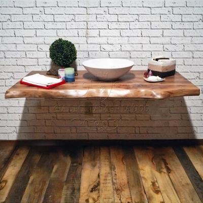 Mensola legno noce - Falegnameria '900